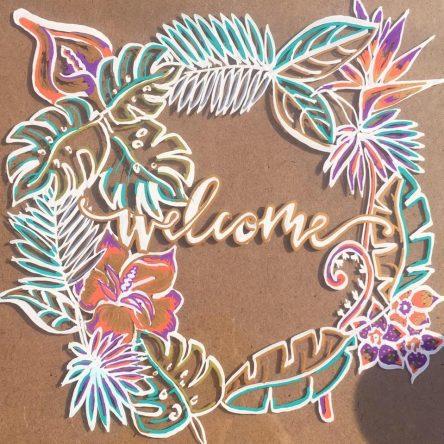 Welcome Glass Art